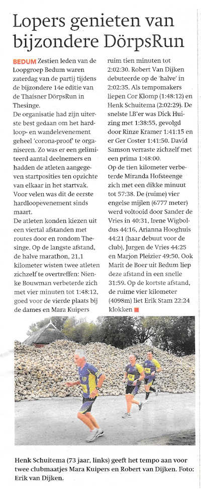 Noorderkrant 30september2020 Thesinge klein